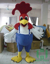 HI CE Cooking adult plush animal chicken mascot costume