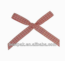 mini decorazione fiocco plaid