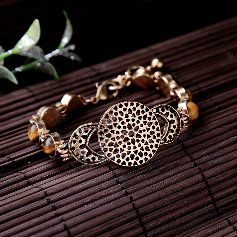 Best Selling Products Tiger Eye Beads Saudi Gold Jewelry Gold Bangle Jewelries
