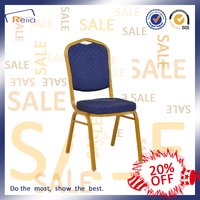 2016 Hot Restaurant Chair In Sale Fabric Covered Metal Frame Banquet Chair