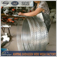 anping shengsen wire mesh Factory hot sale low price concertina razor barbed wire