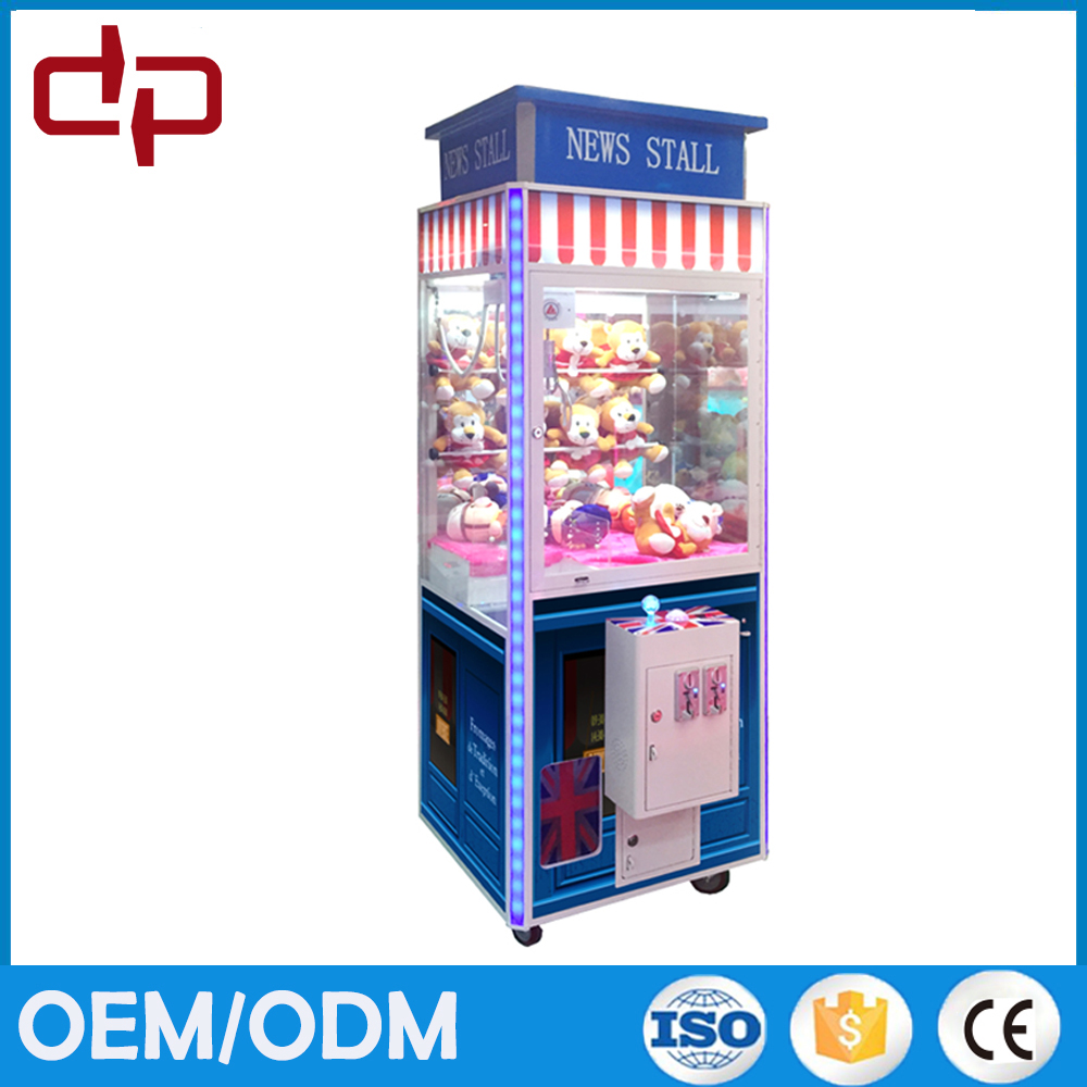Crane claw game machines toy company lucky star doll, Toy Catcher Machine for sale