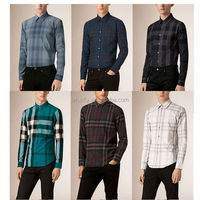 Fashion slim fit picture of pant and shirt for men man in china