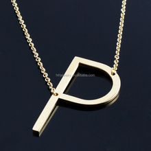 2017 Trending Products Fashion Letter P Pendant Jewelry Women