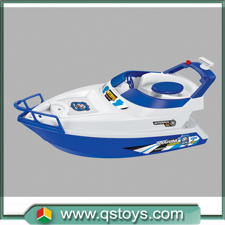 2016 Hot sale 4 channel battery power rc ship model toy in China