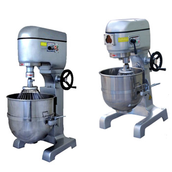 40L 60L 80L bakery planetary cake mixer with scraper