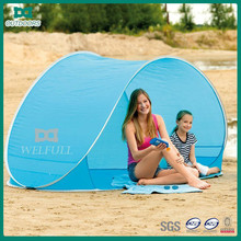 Popular Design Spring Auto Fast Open Beach Tents