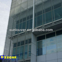 Moveable metal sun louver/solar shading/sun shutter