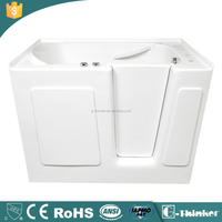 for seniors with whirlpool and air jets walk in tub