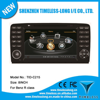 Car DVD for Mercedes Benz R class W251 2006-2012 with built-in GPS A8 chipset RDS BT 3G/Wifi DSP Radio 20 dics momery(TID-C215)