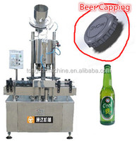 fully automatic 6 heads crown cap sealing machine for beer bottle