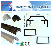 high quality aluminum extruded profile for advertising led display frame light box FQ-D3815