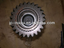 SUZU spare parts, accesorios para isuzu MLD6Q FVR Top shaft gear of gear-box, transmission (Z=25 L=310MM)