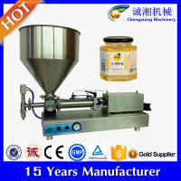 Semi automatic salad mayonnaise filling machine,honey filling machine