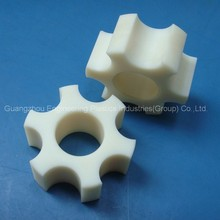 custom engineering plastic CNC machining polyamide nylon gear wheel