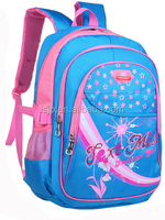 China manufacturer high quality nylon backpack school bag for children