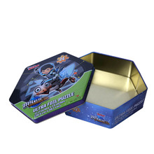 hot sale tin box for puzzle packaging metal box