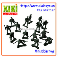 5.5Cm kids mini plastic play set cheap toy soldiers