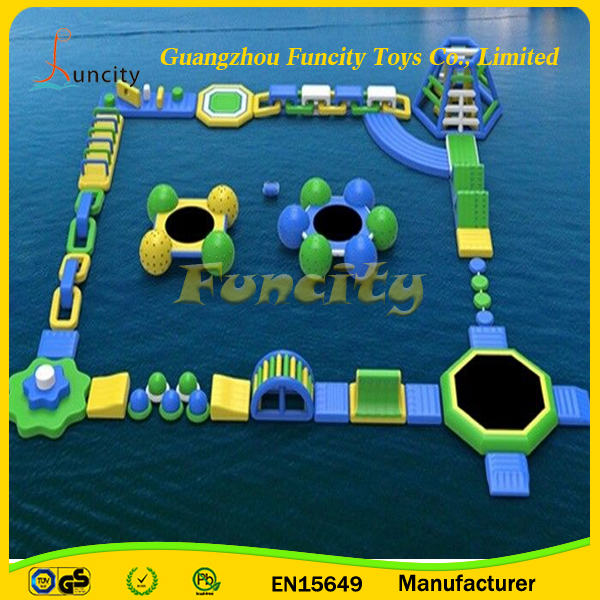 Competitive price giant Inflatable Water Park,Water Park Equipment,Floating Water Games
