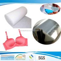 NEL-2010 Water Based Glue for laminating bra cup materials, foam, fabric and suitable for roller coating