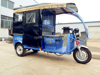 Battery Operated Tricycle Rickshaw Pedicab