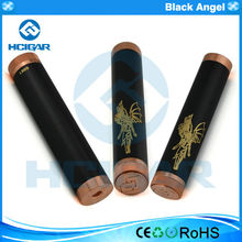 China supplier hcigar top quality Mechanical mod Black angel mod windrose mod with copper pins