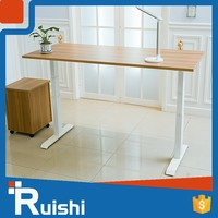New Design Electric Height Adjustable Ergonomic Double Seat Office Desk