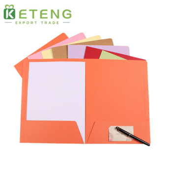 Custom printed size presentation/portfolio paper folder