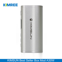KIMREE/KIMSUN A30W 2016 Wholesale Rechargeable Battery Vape Mod 30W Box Vapor Mod with Power Bank Function