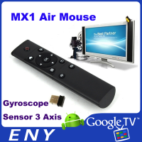 6-Axis Gyro Smart Remote controller 2.4g Wireless Air Mouse MX1 for android tv box