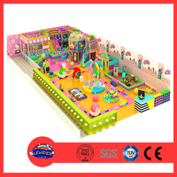 Cheap attractive indoor playground equipment sliding