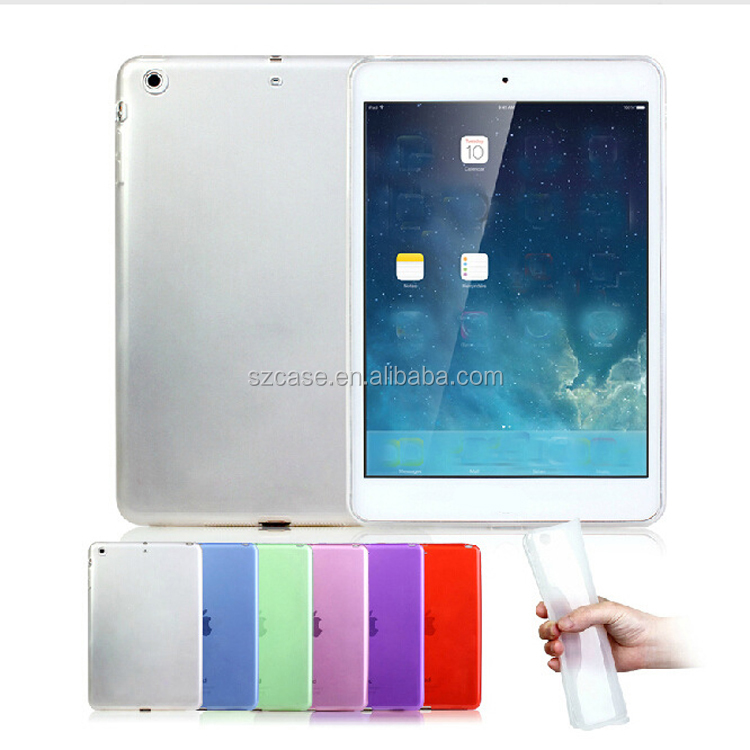Wholesale Clear Transparent Case Cover TPU Jelly Case For Ipad 2 3 4 5 6 air air2 pro