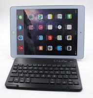 low price PU bluetooth 11.6 inch tablet pc leather keyboard case For ipad/tablet