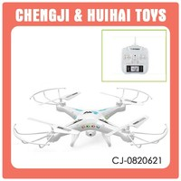 Able to add camera 2.4G six axis gyro kids toy rc drone made in china