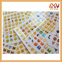 emoticons stickers of chat software, fashional sticker design
