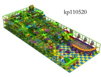 Installation provided excellent quality kids plastic indoor playgroundr jungle gym