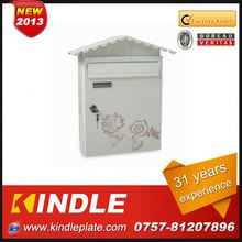 Kindle Professional waterproof cast metal mailbox for sale with 31 years experience