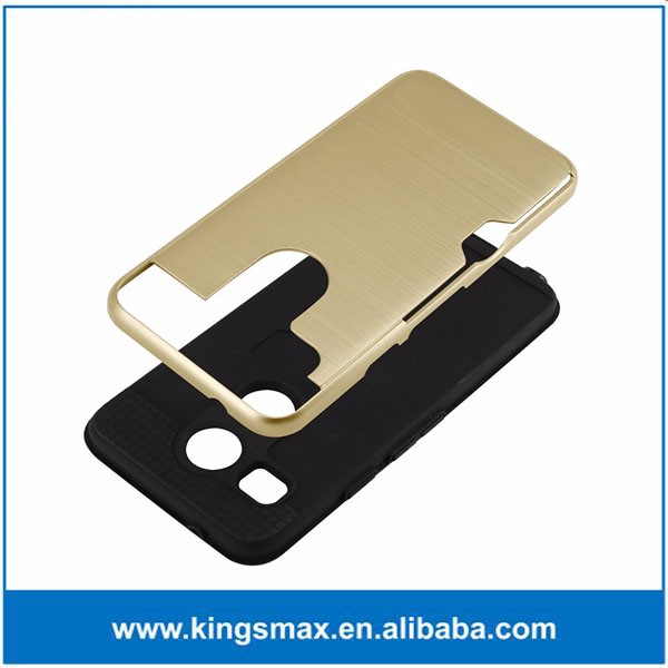 Gold Hybrid Phone Case for LG Smartphone Accessory Housing Bag Case for LG Google Nexus 5X