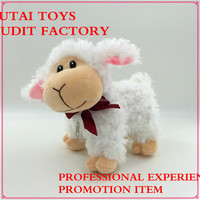 hot sale cute plush sheep toys with row