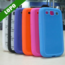 New Subimation Silicon Case for samsung galaxy I9300,S3,silicon material