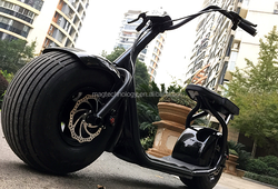 2016 new 2000w 60V 2 wheel electric bike/scooter/motorcycle citycoco with rear light and mirro