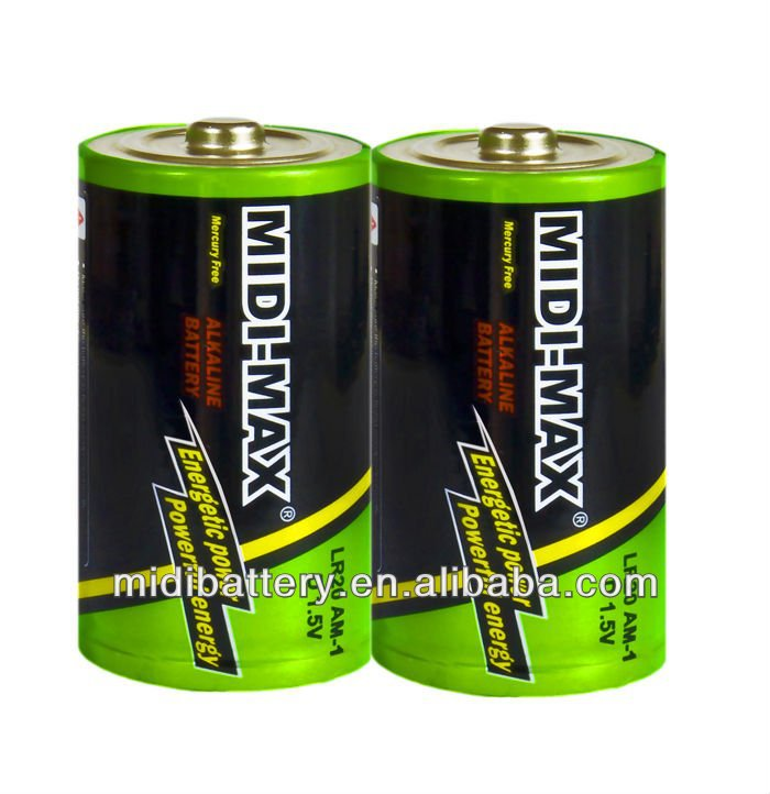 1.5V super power D size LR20 AM1 alkaline dry cell battery manufacture