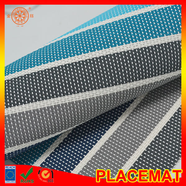 floor mat stripe vinyl place mat vertical blind fabric material window shutter vinyl roll material fabric
