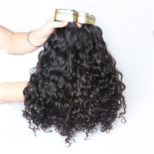 Qingdao hair vendors good quality machine made chinese weave hair