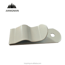 White Color Painted Flat metal Spring steel Spring Clips