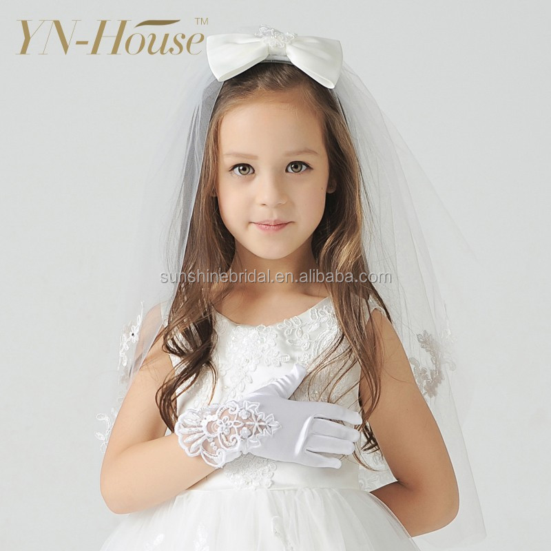 2016 New Fashion Wedding Gloves For Flower Girls