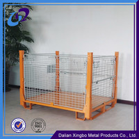 2016 Foldable and stackable steel storage container