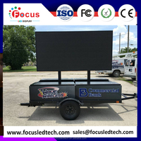 Truck Mounted LED Display P10mm outdoor Truck Mobile LED Display Digital Billboard