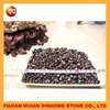 stone polised black stone pebble for aquarium decoration