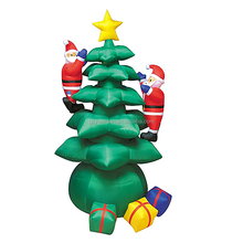 Custom inflatable christmas trees for the outdoor christmas decorations